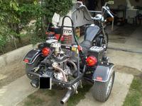 TRAJKA, TRIKE, motocykl trójkołowy marki SAM typu TITO