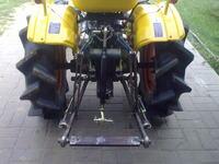 Traktorek SAM z silnika 1.6D Forda