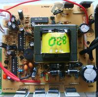 Przetwornica 12V->230V (Made in China)-słaba wydajność.
