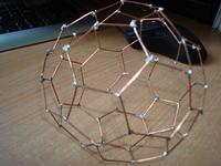 Model fulerynu C60 ->> sztuka lutowania :]
