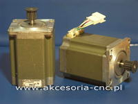 Silnik krokowy i tranzystor załaczający cewki - grzanie