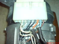Podłączenie silnika SOLE typ 25080.052