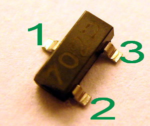 Mosfet 2n7007 - co to za tranzystor?