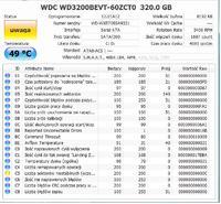 WDC WD3200BEVT-60ZCT0 - Dysk staje ...
