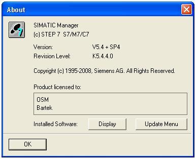 """Step 7 v5.4 """"nie widzi"""" wincc flexible 2008"""