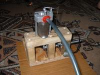 Pomoc - silnik spalinowy własnej roboty