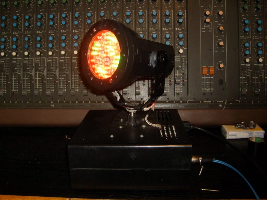 Ruchoma g�owa LED