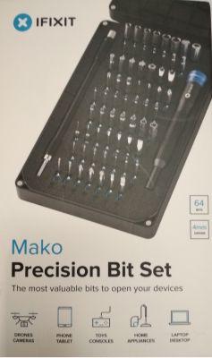 Ifixit Mako, zestaw bitów precyzyjnych, recenzja