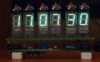 Zegar lampowy VFD na lampkach IW-11