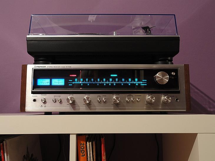 Pioneer SX-636 przesunięcie skali fal radiowych