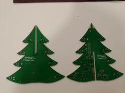 Choinka (3D) oparta o Xmega i diody RGB (WS2812B)