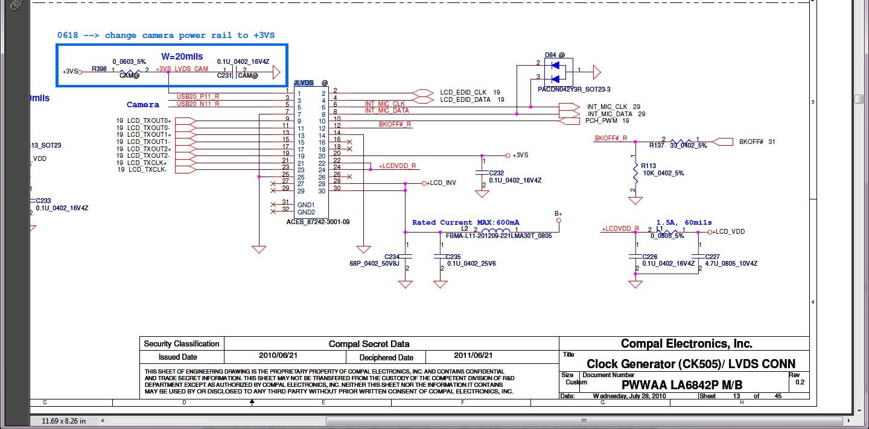 Toshiba C660 - Brak pod�wietlenia matrycy