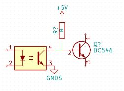 Typowy moduł przekaźnika z optoizolacją , działający inaczej