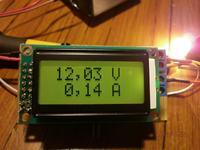 Miernik U/I PIC16F628A+MCP3422
