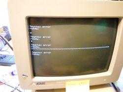Commodore/Atari - Podłączenie monitora Atari MDA do Commodore CBM8296
