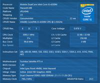 Toshiba P75-A7200 - Uszkodzona MB od procesora