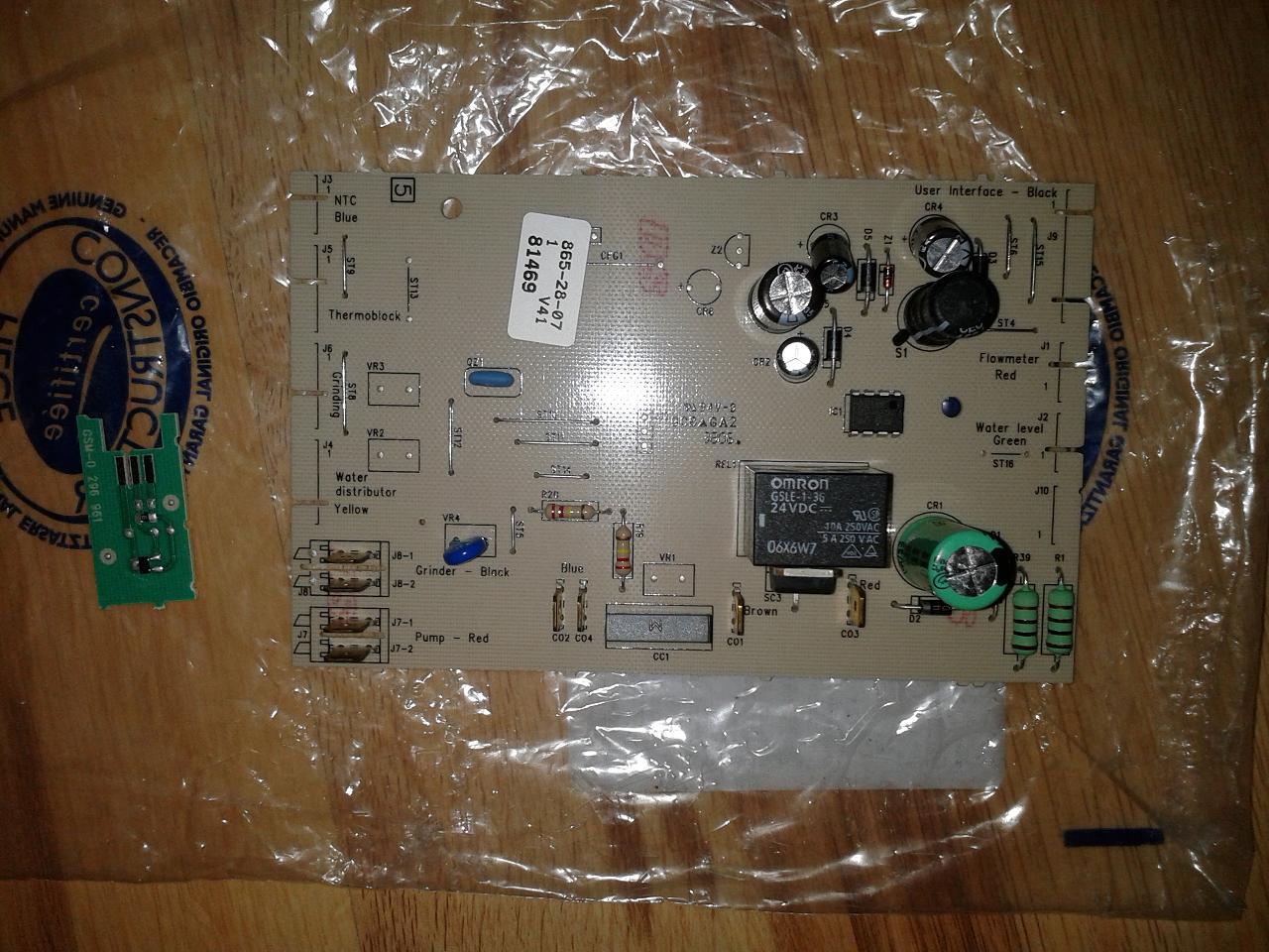 [Sprzedam] Nowa elektronika wykonawcza KRUPS XP7220 Warszawa