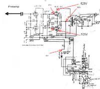 6L6 GC - wymiana prostownika z 5ar4 na diody krzemowe