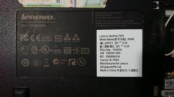 Lenovo z565 - po uruchomieniu czarny ekran, działające wentylatory