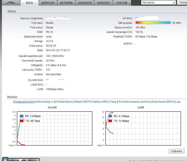 airgrid m5hp - Jaka Poprawna konfiguracja WI FI