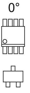 Eagle własna biblioteka i prawidłowa rotacja elementów.