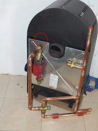 Peic Kamino E - Zapowietrzaj�ca si� pompa , odpowietrznik