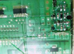 Samsung WW60J3283LW - uszkodzenie mechaniczne modułu DC-00203B