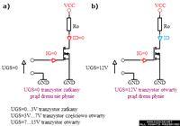 Atmega8,bascom - Wysterowanie mosfetów typu N-prawidłowe połączenie.
