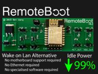 RemoteBoot - system zdalnego zarządzania komputerem PC z WiFi