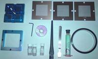 [Sprzedam] Mega zestaw do reballingu bga, ramka, sita, kulki i wiele więcej