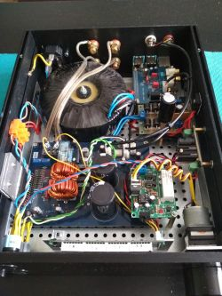 Wzmacniacz-streamer TA2022 + RaspberryPi 3