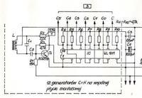 bardzo cicho działająca dolna klawiatura organ dwu poziomowych Estrada 207 AR
