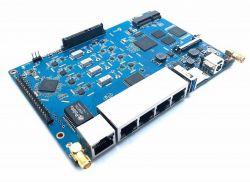 BPI-R64 - jednopłytkowy komputer z MT7622 i 5 portami LAN