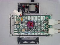 RF 0.5GHz na płytce prototypowej.