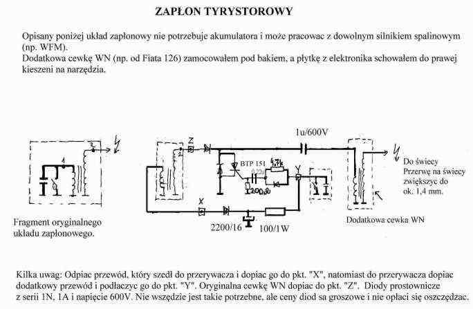 Pony301 - Mikroporcesorowy modu� zap�onowy z wyprzedzeniem k�ta zap�onu