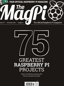 The MagPi - magazyn o Raspberry Pi - wydanie 75, listopad 2018