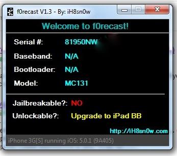 Iphone 3gs 5.0.1 Brak numeru BaseBand oraz ci�g�y reset