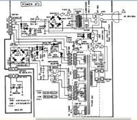 Amplituner Sherwood RV-6010R zasilanie przekaźnik