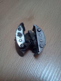 Spalinowy silnik do roweru - Uszkodzona prądnica - magneto