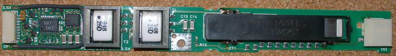 Toshiba Satellite S2400 - 103 brak pod�wietlania matrycy