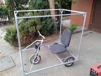 Klocek - mały pojazd ładowany słońcem