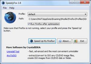 SpeedyFox - program 3-krotnie przyspieszaj�cy Firefoxa