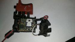 Wkrętarka Bosch GSR 1080-2-Li - uszkodzony włącznik