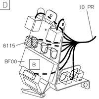 peugeot 106 II - Ogrzewanie tylnej szyby i tylna wycieraczka