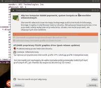 Ubuntu Niebia�ska Nimfa - nie w��cza si�