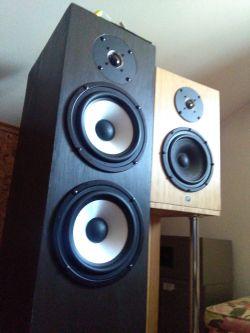 Kolumny 2.5D na głośnikach STX MK2.