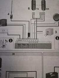 podłączenie SMX2R radioodbiornik nice do napedu somfy Dexxo Compact RTS
