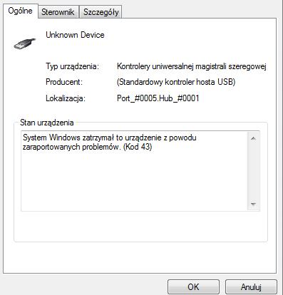 Nie działający programator USBasp