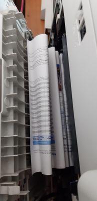 Brother MFC-L8650CDW - Zacina papier (szczególnie przy drukowaniu dupleksowym)
