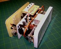 Oryginalny zegar wskazówkowy na serwomechanizmach